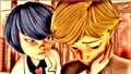 Adrien Agreste and Kagami Tsurugi - adrigami fan art