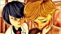 Adrien Agreste and Kagami Tsurugi - mollymolatas-fanclub fan art