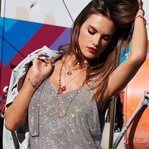 Alessandra Ambrosio for Swarovski's Luminous Fairy [2018 Campaign]