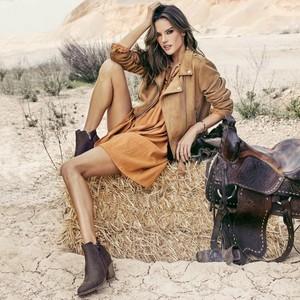 Alessandra Ambrosio for XTI Shoes [2018 Campaign]