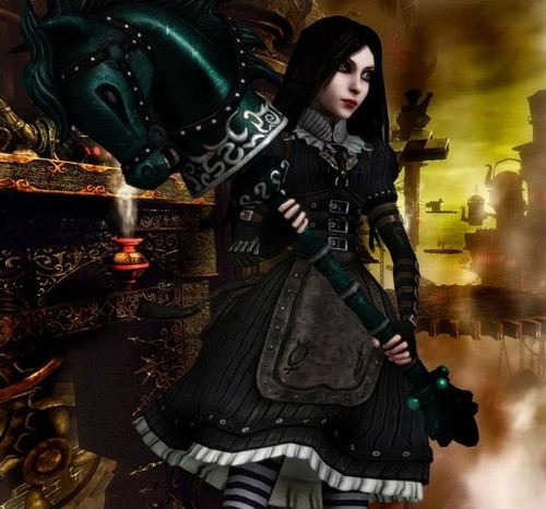 Alice Madness Returns ♠ ♣ দেওয়ালপত্র called Alice Liddell