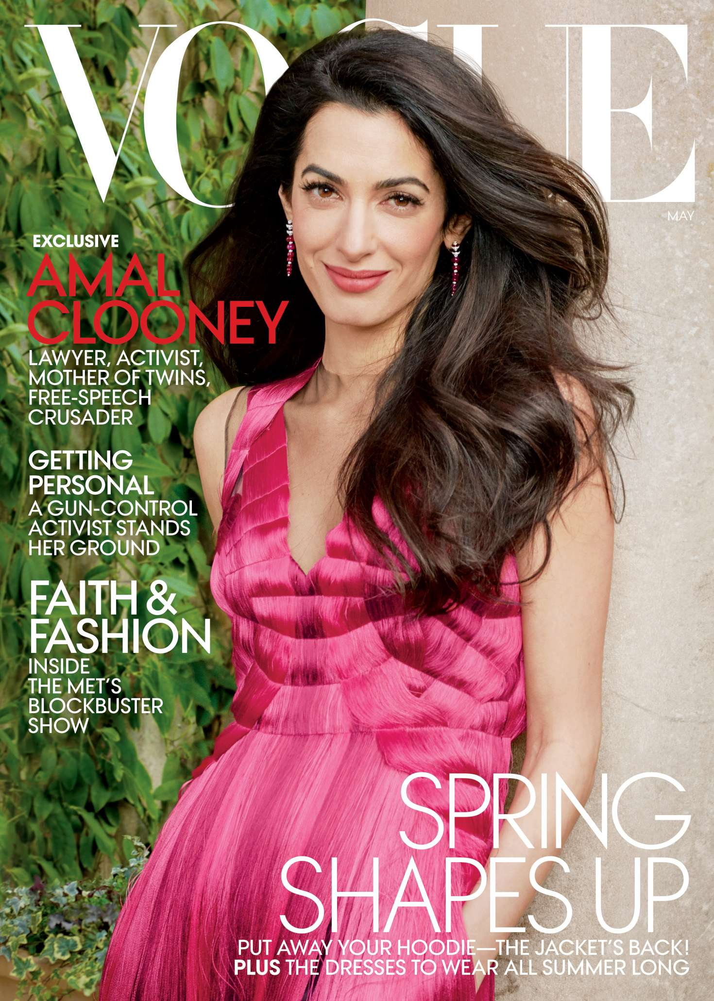 Amal Clooney for Vogue US [May 2018] - Vogue Photo (41619568