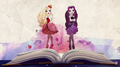 Apple White and Raven Queen - ever-after-high photo