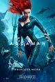 Aquaman (2018) Character Poster - Amber Heard as Mera
