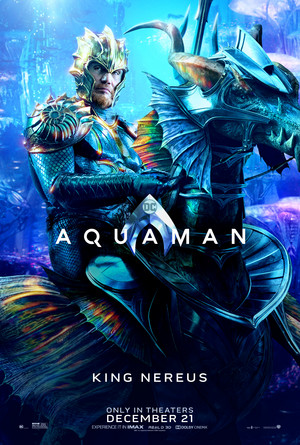 Aquaman (2018) Character Poster - Dolph Lundgren as King Nereus