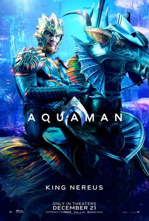Aquaman (2018) Character Poster - Dolph Lundgren as King Nereus