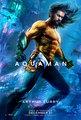 Aquaman (2018) Character Poster - Jason Momoa as Arthur سالن, کوٹنا / Aquaman