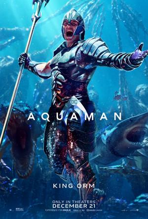 Aquaman (2018) Character Poster - Patrick Wilson as Orm/Ocean Master
