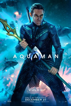 Aquaman (2018) Character Poster - Willem Dafoe as Nuidis Vulko