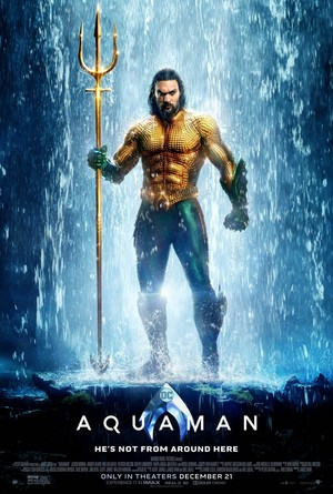 Aquaman (2018) Poster - Jason Momoa as Arthur Curry / Aquaman