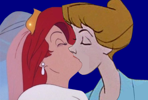 disney crossover wallpaper entitled Ariel/Anita
