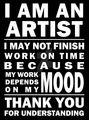 Artist Warning!