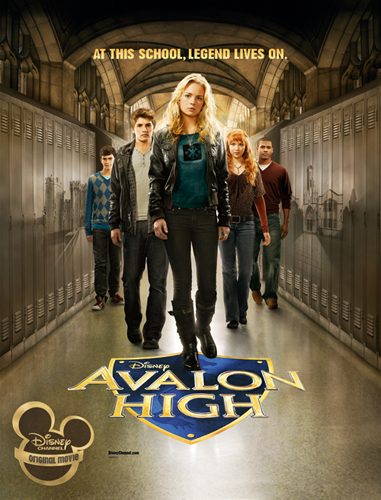 Disney Channel Original Movies wallpaper titled Avalon High (2010)