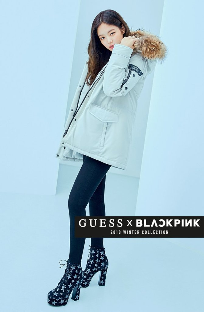 Black Pink Images Blackpink For Guess Winter Collection 2018 Hd