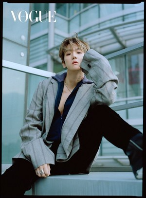 Baekhyun for Vogue Korea magazine on December 2018 issue