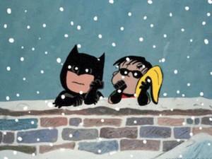 蝙蝠侠 and Robin/Peanuts