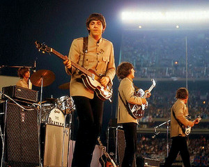 Beatles 1965 konsert Shea Stadium