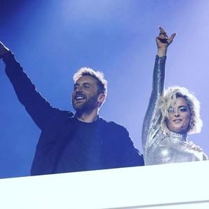Bebe Rexha and David Guetta