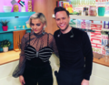 Bebe Rexha and Olly Murs