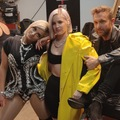 Bebe Rexha with Anne Marie and David Guetta