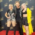 Bebe Rexha with David Guetta and Anne Marie