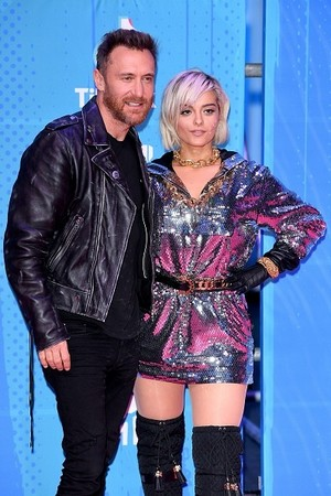 Bebe and David Guetta
