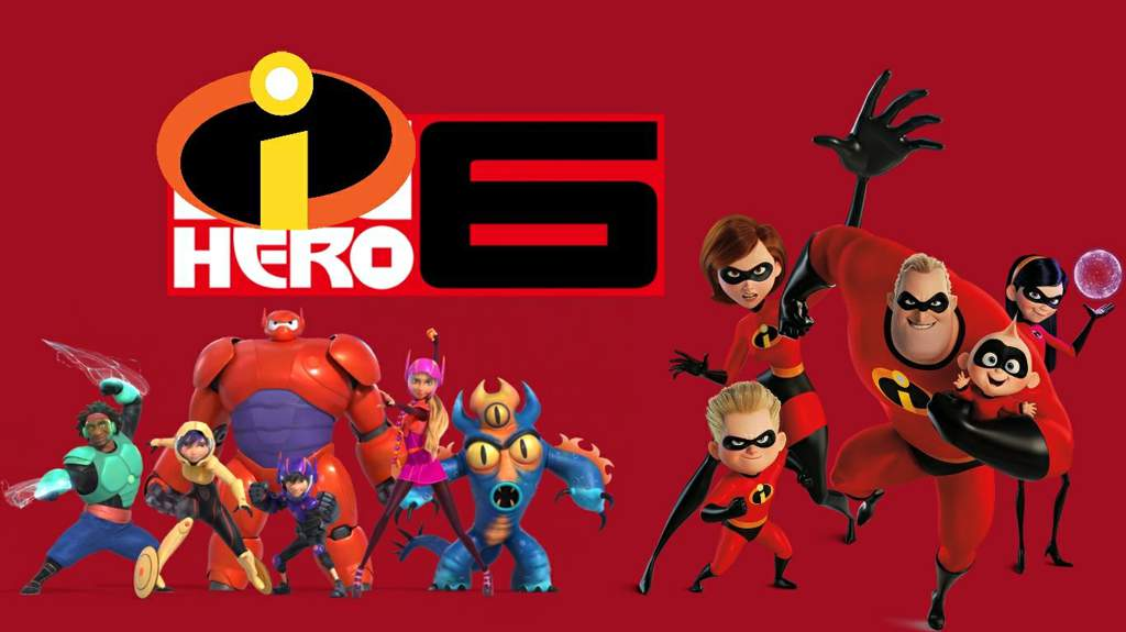 Big Hero 6 and Incredibles crossover