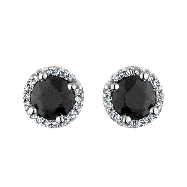 Ktchenor Images Black Onyx Diamond Stud Earrings Wallpaper And Background Photos