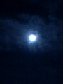Blue Moon - space photo