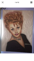 Lucille Ball Painting 💕 - lucille-ball fan art