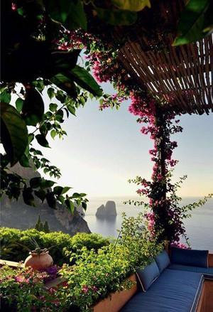 Capri(Italy)☀️🌸
