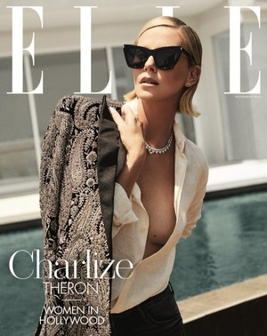 Charlize Theron for Elle Magazine [November 2018]