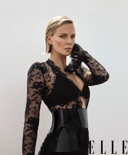 查理兹·塞隆 壁纸 called Charlize Theron for Elle Magazine [November 2018]