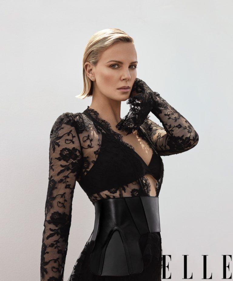 Charlize Theron for Elle Magazine [November 2018]