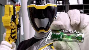 Chase Morphed As The Black Dino Charge Ranger