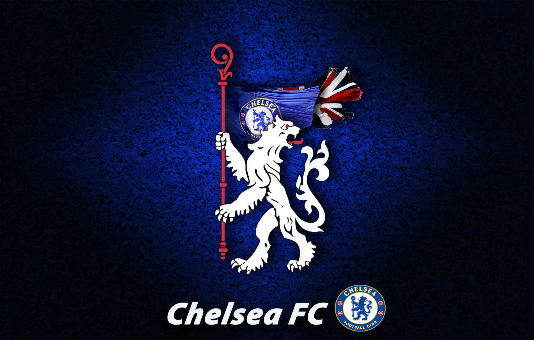 Chelsea Fc Wp White Lion Logo Imunionjack Wallpaper