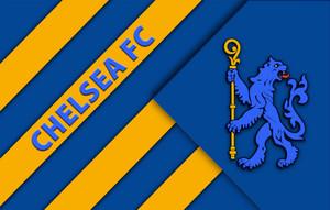 Chelsea FC WP Yellow Blue Lion