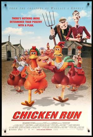Chicken Run (2000) Movie Poster