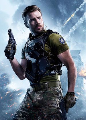 Chris Evans for Call Of Duty (2015)