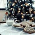 Christmas trees, milk, and cookies 🎄 - christmas photo