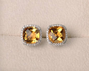 Beautiful Things Wallpaper Called Citrine Earrings