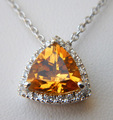 Citrine Necklace  - beautiful-things photo