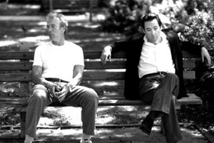 Clint Eastwood and John Cusack in Midnight in the garden of good and evil 1997