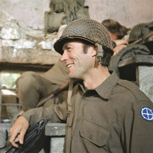 Clint Eastwood on the set of Kelly's heroes