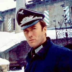 Clint Eastwood on the set of Where Eagles Dare