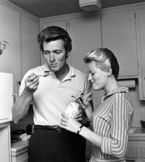 Clint and Maggie Eastwood (1959)