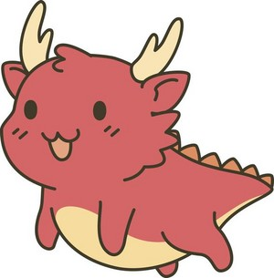Cute Adorable Kawaii Animal Cartoon Dragon 668912932 grande