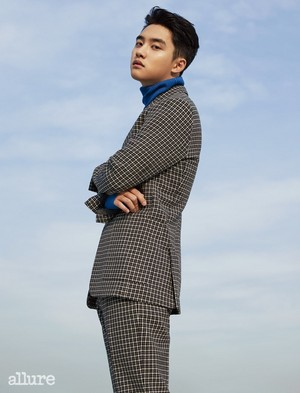 D.O. @ Allure Korea