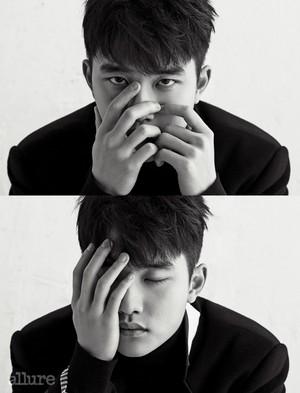 D.O. (EXO) @ Allure Korea