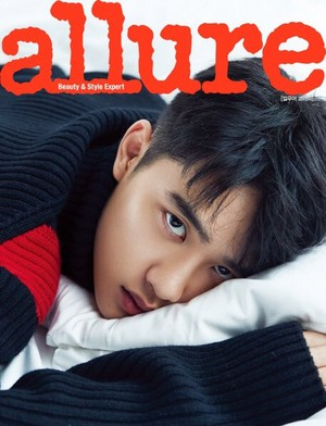 D.O. for Allure Korea magazine on December 2018